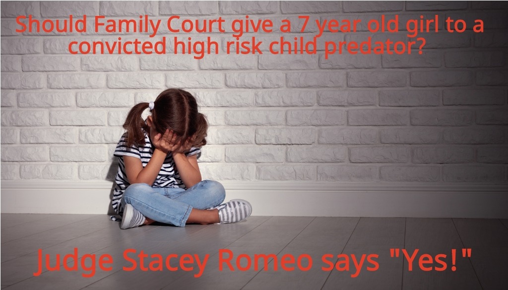 Shame On Judge Stacey Romeo